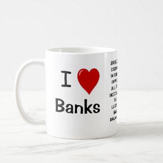 I hat Liebe i-Liebe-Banken - unhöfliche Gründe Tasse