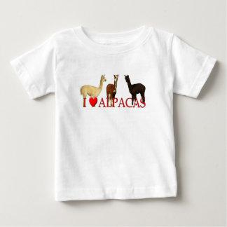 I Herz-Alpakas Baby T-shirt