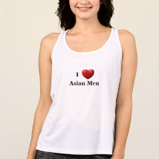 I Herz-asiatische Männer - T - Shirt