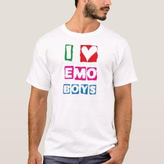 I Herz Emo Jungen - EmotiTee T-Shirt