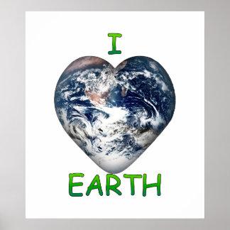 I Herz-Erde (I ♥ Erde) Poster