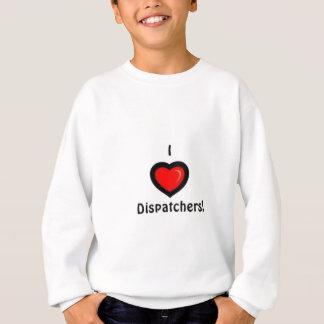 I Herz-Fahrdienstleiter Sweatshirt