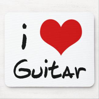 I Herz-Gitarre Mousepad