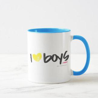 I Herz-Jungen-Gelb Tasse