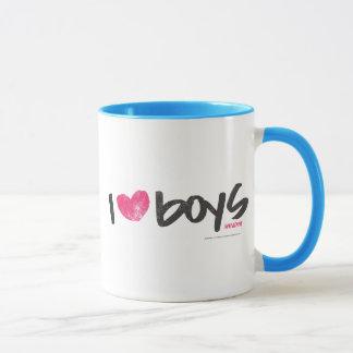 I Herz-Jungen magentarot Tasse