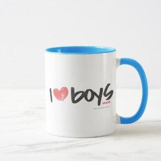 I Herz-Jungen-Rosa Tasse