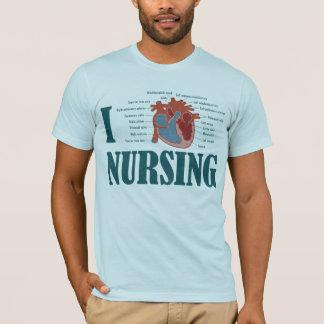 I Herz KRANKENPFLEGE T-Shirt