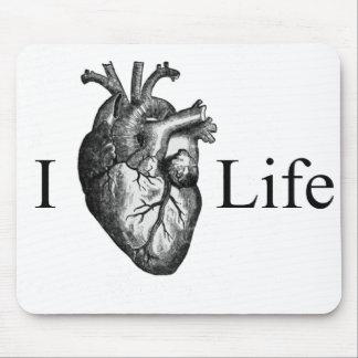 I Herz-Leben Mauspad