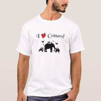 I Herz-Lebewesen T-Shirt