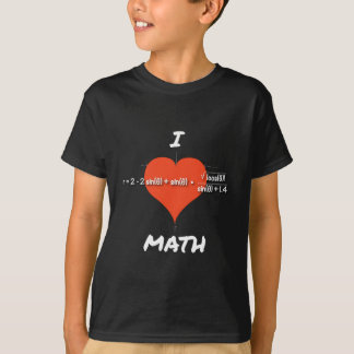 I Herz-Mathe-Gleichung T-Shirt