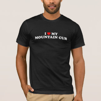 I Herz mein Gebirgskanaille-Dunkelheits-T - Shirt