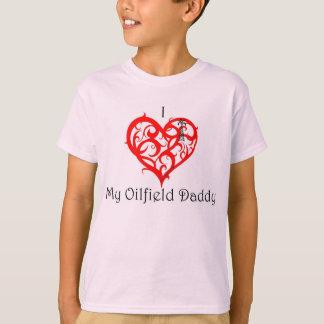 "I ""Herz"" mein olfield Vati T-Shirt"