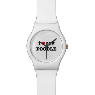 I Herz meine Armbanduhr des Pudel-May28th