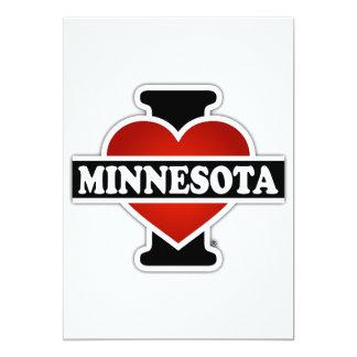 I Herz Minnesota Karte