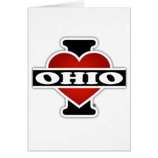 I Herz Ohio Karte