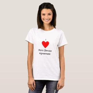 I Herz-Paris-Klima-Vereinbarung T-Shirt