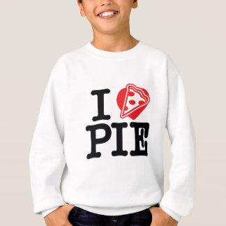 I Herz-Pizza-Torte Sweatshirt
