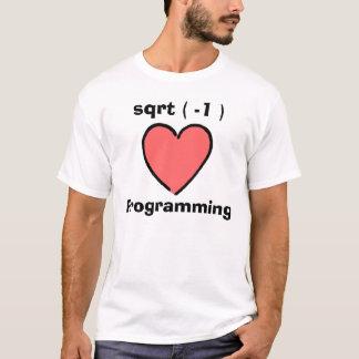 I Herz-Programmierung T-Shirt