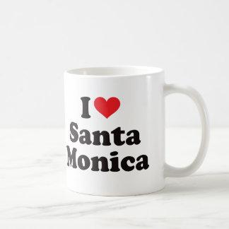I Herz Santa Monica Kaffeetasse