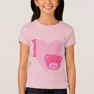 I Herz-Schwein-Shirts T-Shirt