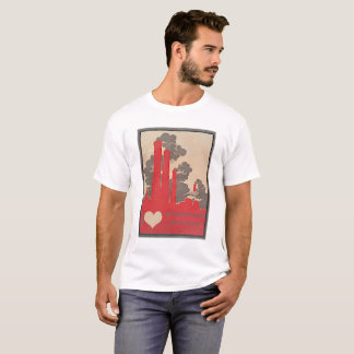 I Herz-Umweltschutze T-Shirt