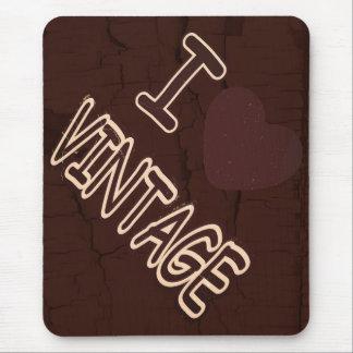 I Herz Vintages #5 Mousepad
