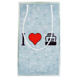 I Herz-Visitenkarten Kleine Geschenktüte