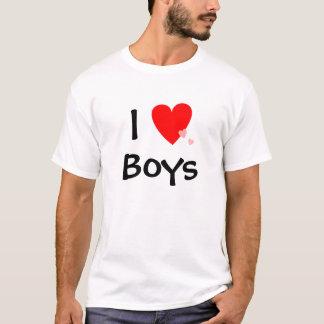 I Jungen der Liebe-(Herz) T-Shirt