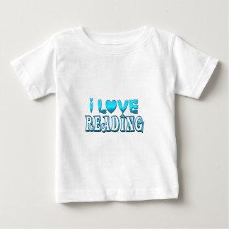 I Liebe-Ablesen Baby T-shirt