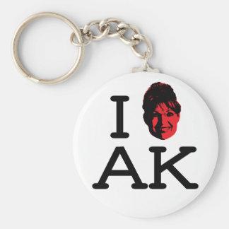 I Liebe AK - Palin - Keychain Schlüsselanhänger