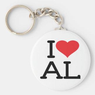 I Liebe AL - Keychain Schlüsselanhänger