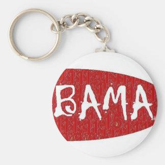 I Liebe Alabama Keychain vorbei: da'vy Standard Runder Schlüsselanhänger