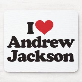 I Liebe Andrew Jackson Mauspad