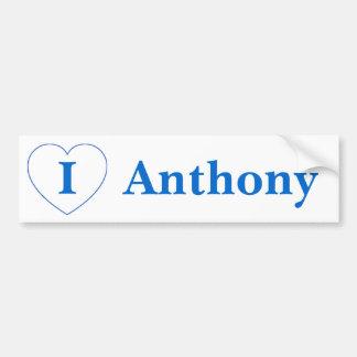 I Liebe Anthony (BpS) Autoaufkleber