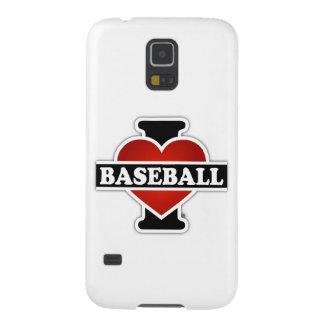 I Liebe-Baseball Samsung Galaxy S5 Hülle