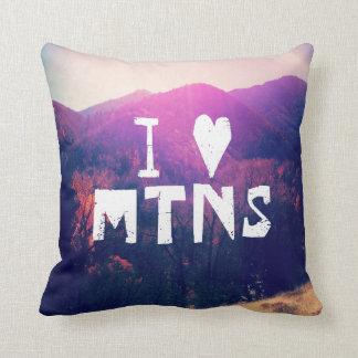 I Liebe-Berge Kissen