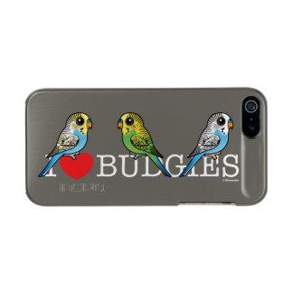 I Liebe Budgies Incipio Feather® Shine iPhone 5 Hülle