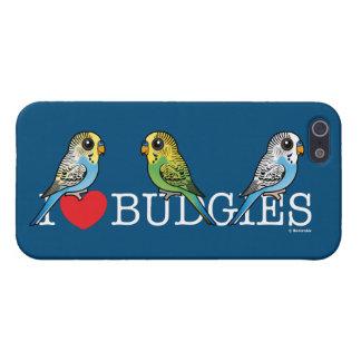 I Liebe Budgies iPhone 5 Case