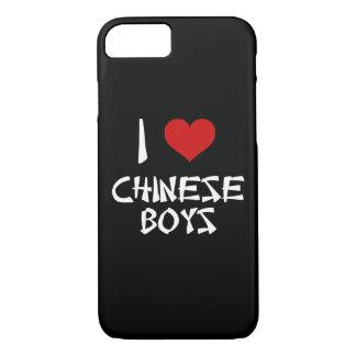 I Liebe-Chinese-Jungen iPhone 8/7 Hülle