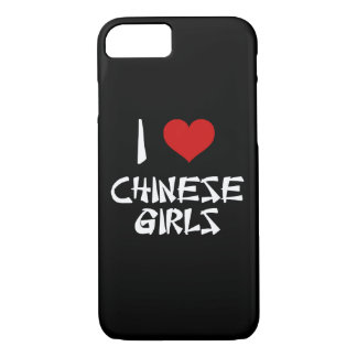 I Liebe-Chinese-Mädchen iPhone 8/7 Hülle