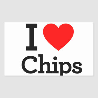 I Liebe-Chips Stickers