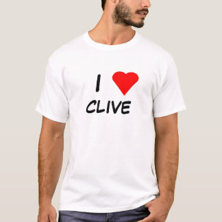 I Liebe Clive T-Shirt