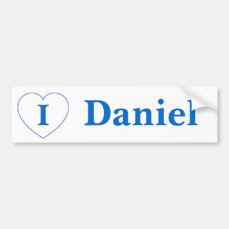 I Liebe Daniel (BpS) Autoaufkleber
