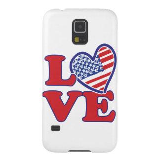 I Liebe das USA-Herz Samsung Galaxy S5 Cover