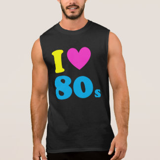 I Liebe der 80er Ärmelloses Shirt