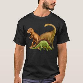 I Liebe-Dinosaurier-erwachsener dunkler T - Shirt