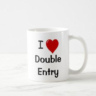 I Liebe-doppelter Eintritt - unhöfliche Tasse