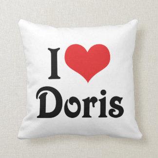I Liebe Doris Zierkissen