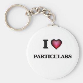 I Liebe-Einzelheiten Schlüsselanhänger