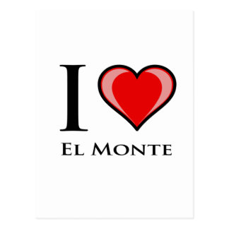 I Liebe-EL Monte Postkarte